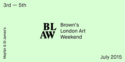 LONDON ART WEEKEND AT GAFRA