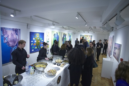 Preview reception for 'POP-UP AFRICA': Kenya